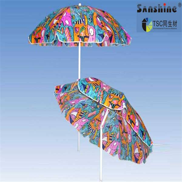 popular good quality windproof beach umbrella