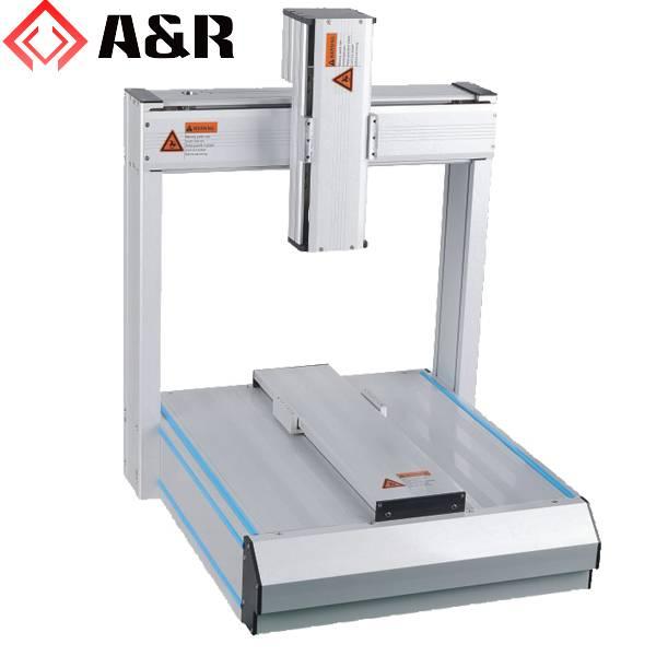 300X300mm 3-axis Desktop robot for glue dispensing, screw fastening,solder