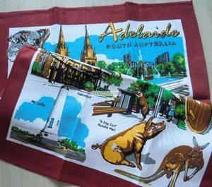 Souvenir promotional tea towel