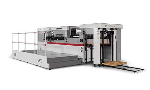Auto Die cutting machine with Cardboard boxes