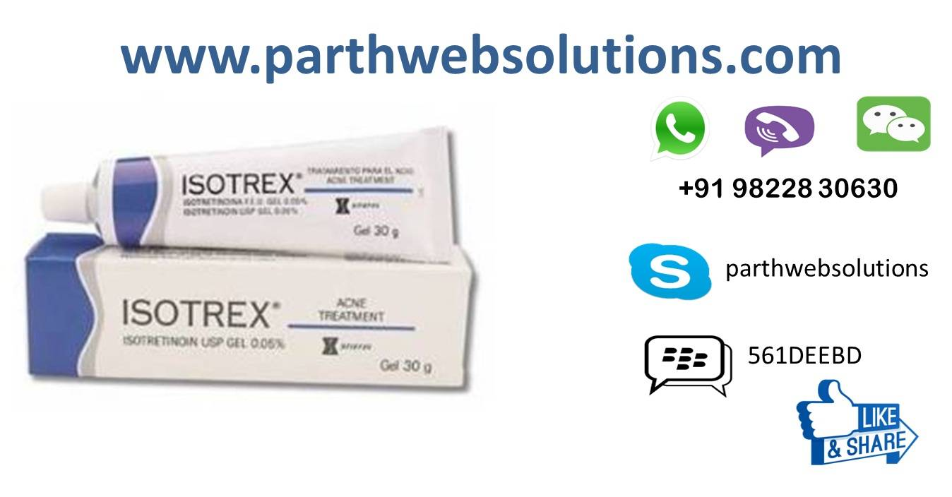 Isotrex Gel 0.5mg/gm (Isotretinoin)