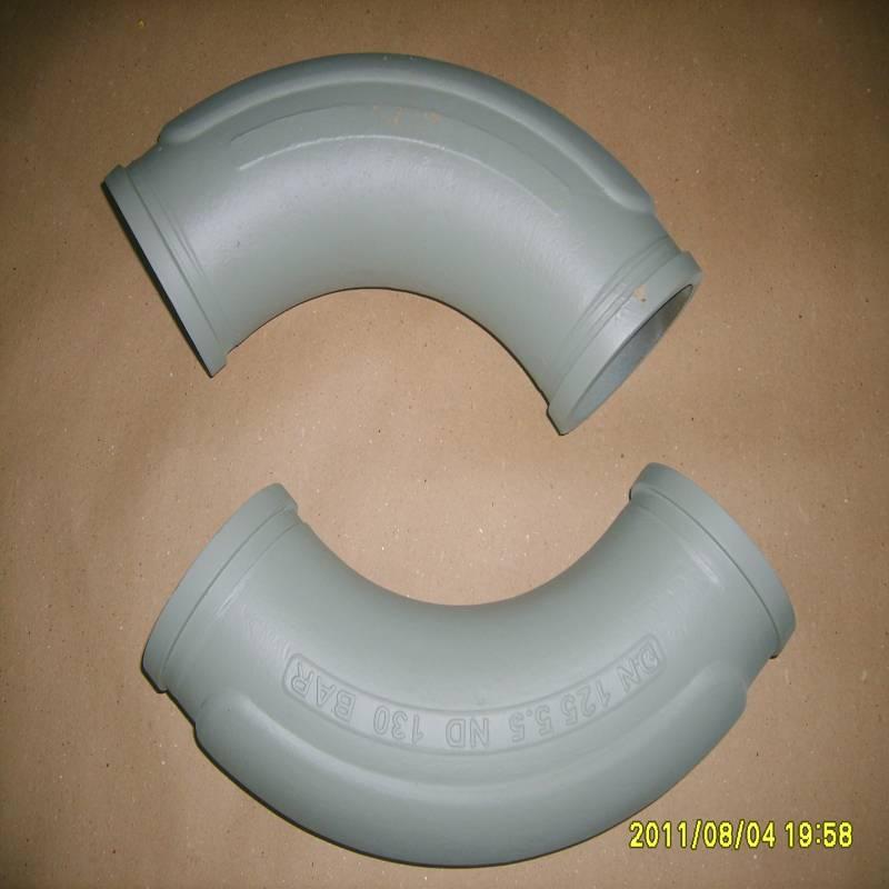 DN125 Good Quality Concrete Pump Casted Elbow