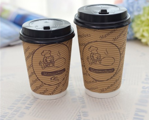 Custom Logo Printed Hot Tea Coffee Paper Cup