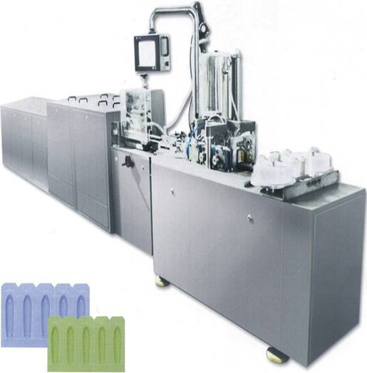 ZS-Straight Line Type Full-Automatic Suppository Filling And Sealing Machine