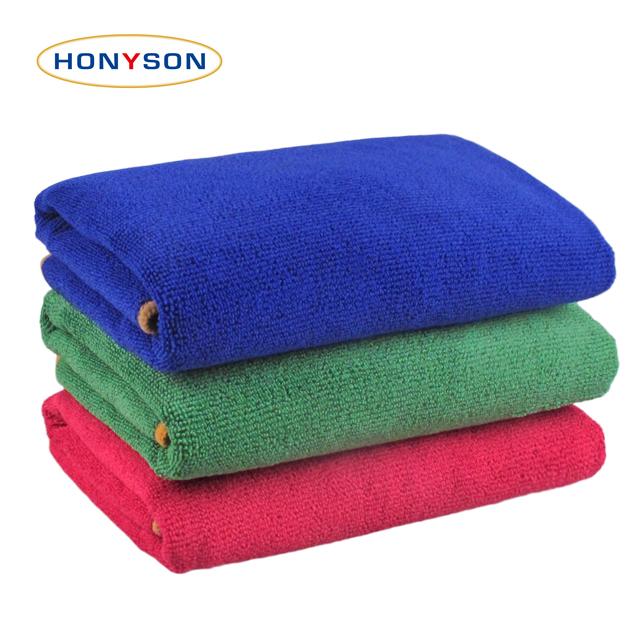 High-low Wool Microfiber Towel