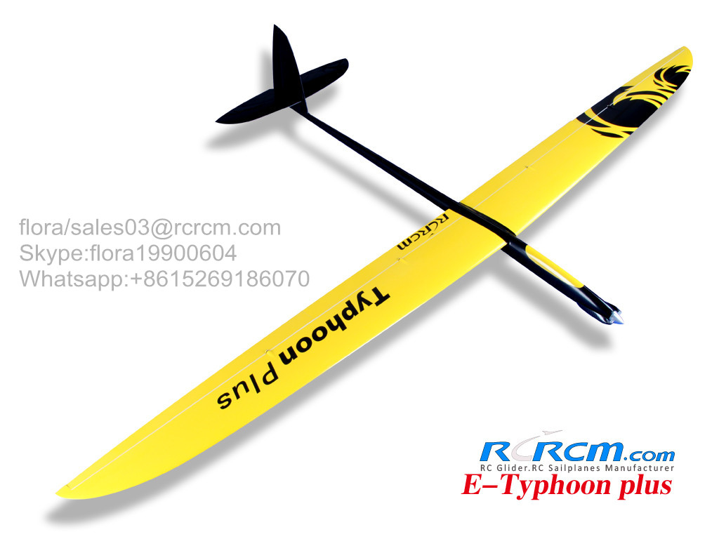 3m Typhoon composite rc plane
