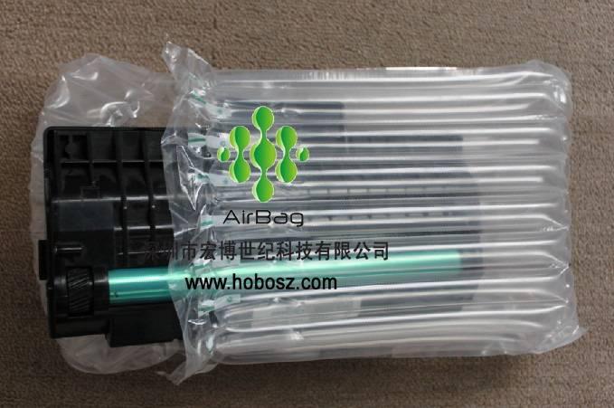 Toner cartridges air bag