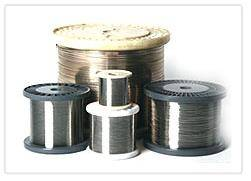 Nickel silver wire.