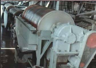 Large-scale magnetic chosen separator