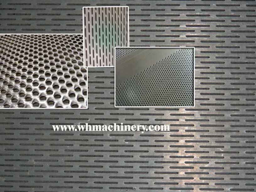 mesh/ punched plates / particle board production line