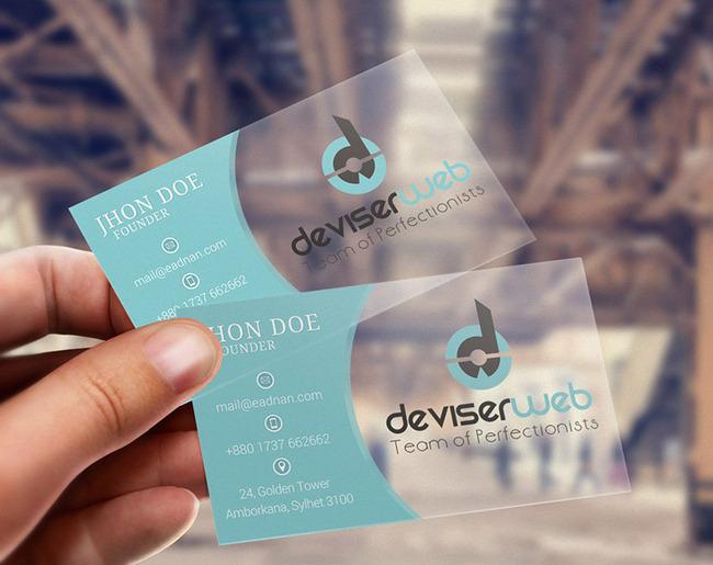 Aikeyi Technology Transparent plastic inkjet business blank PVC card