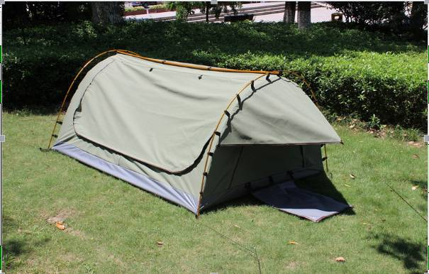 free standing single/double swag tent