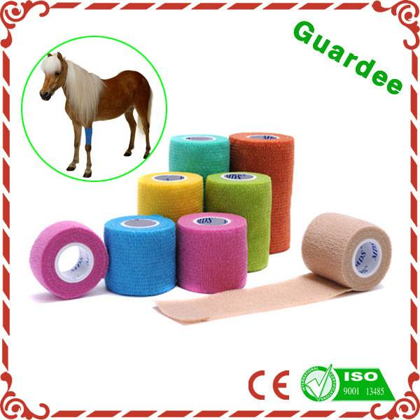 Waterproof Colored Horse Cohesive Bandage