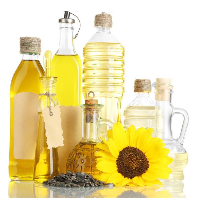 Refined sunflower oil from Ukraine