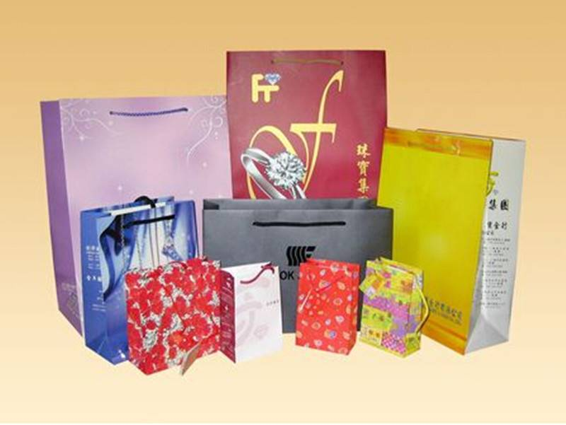 Luxury paper bag for gift packing
