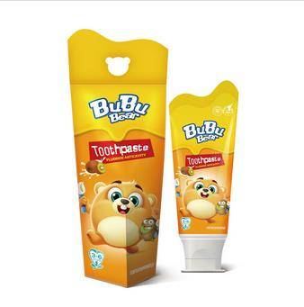 toothpaste fluoride anticavity  BUBUBEAR