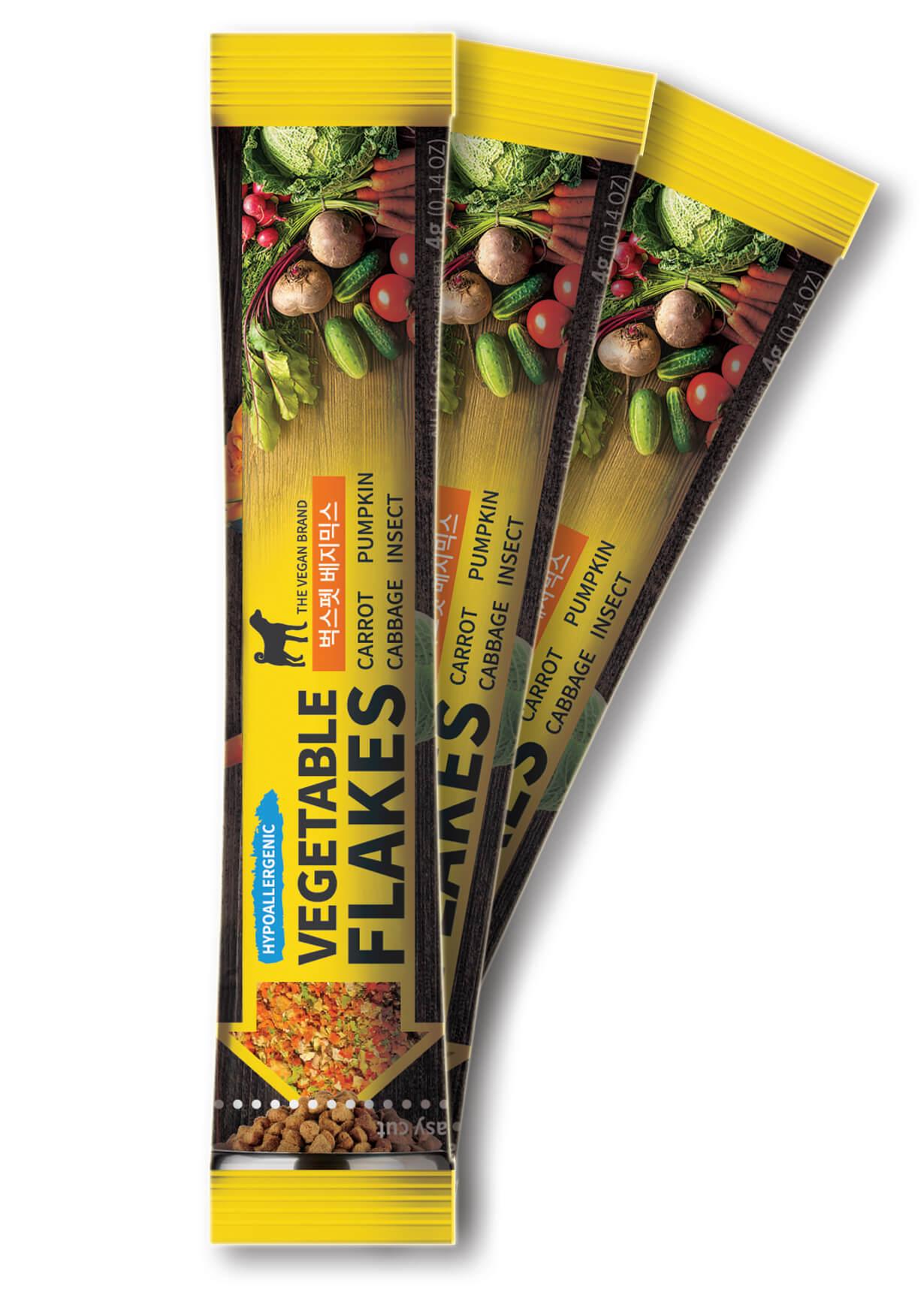 Korean high-quality pet food Bugs-pet Vege-Mix (stick)