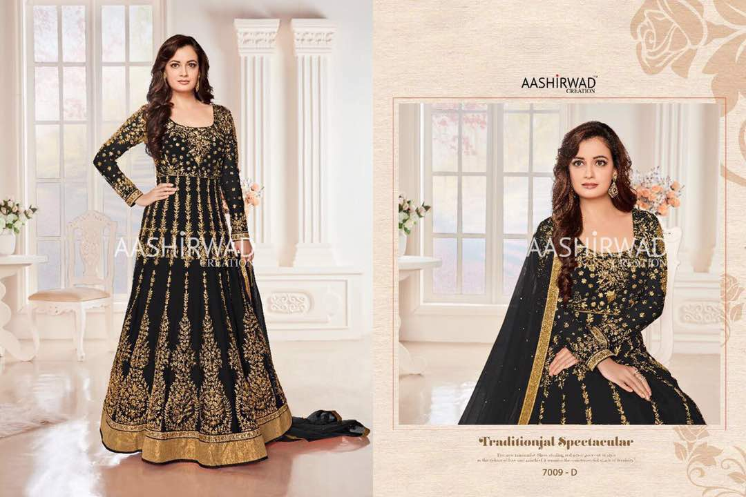 EXCLUSIVE DESIGNER EMBROIDERY WORK ANARKALI SUITS