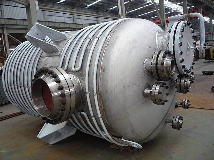 Stainless steel Reaction Kettle vessel for chemical industry