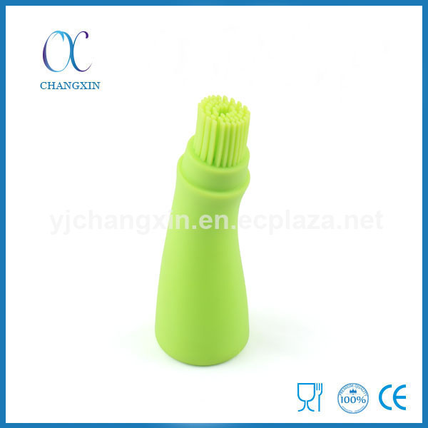 Hot Selling Food Grade Silicone Oil Bottle Absorbing Brush
