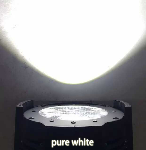 High Brightness 100W White COB LED Par Can Stage Studio Lighting