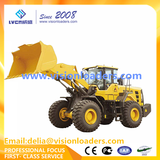 SDLG 2017 New L958F Wheel loader with ZF Transmission for sale