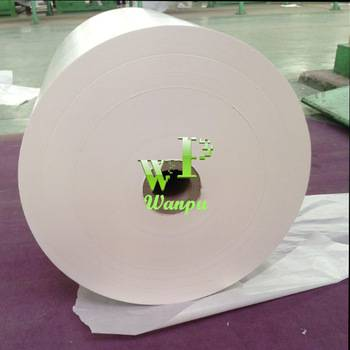 Silicon coated glassine paper for adhesive label