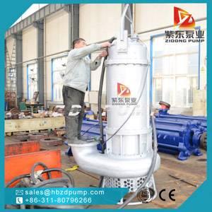 TOYO submersible sand dredging pump river gravel pump