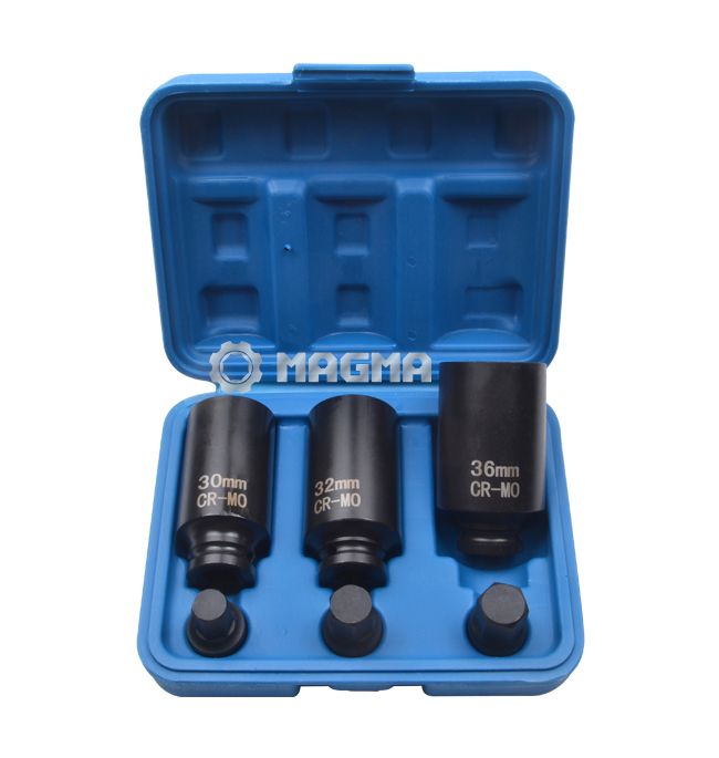 "1/2"" Drive Shaft Hub Nut Impact Socket Set (MG50475)"