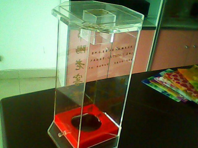 Acrylic wine box