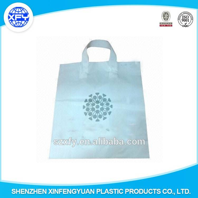 New Strong Handle Plastic Packing Bag for Gift