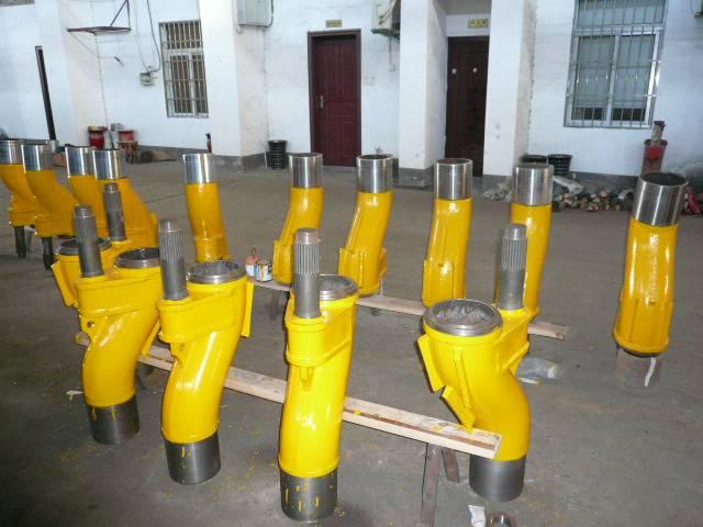 S valve, S tube for Zoomlion/Sany/Sermac/Kyokuto/Putzmeister concrete pump