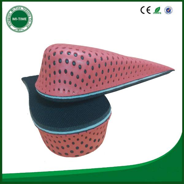 3/4 eva height increase insoles arch support insole