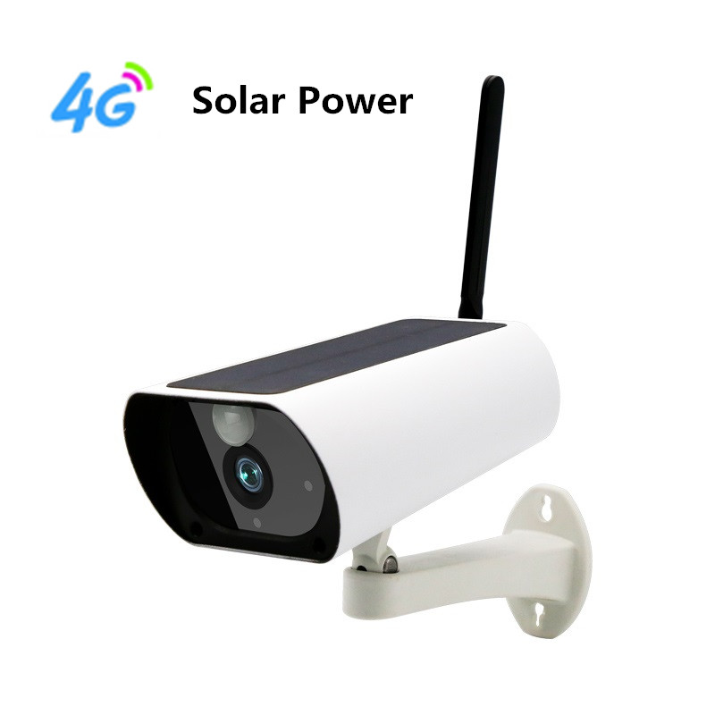 Sumond 1080P 4G Camera With Solar Power Waterproof IP67 TF Card Two Way Audio Wireless IP Camera