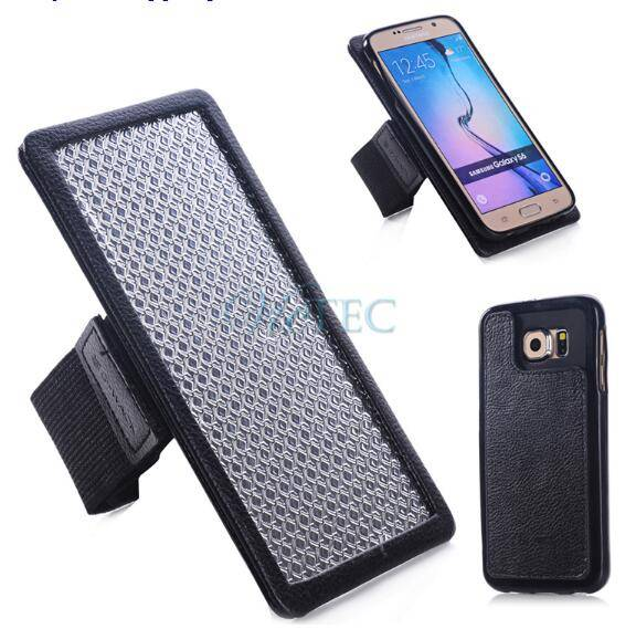 2015 new product running magnetic split arm band for samsung galaxy s6
