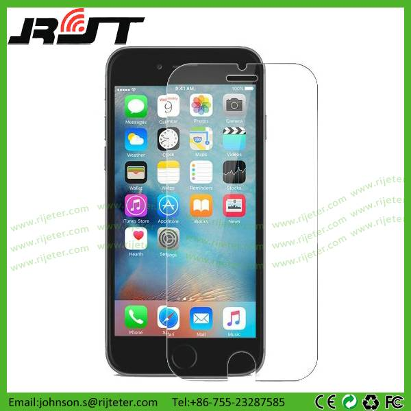 9H 0.33mm 2.5D tempered glass screen protector for iphone