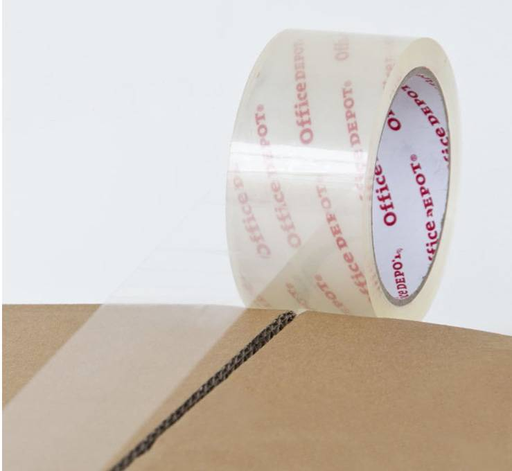 Crystal Clear Packing Tape For Carton Sealing