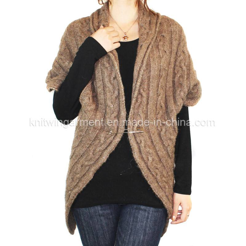 Fashion Women Knitted sleeveless  cardigan  Sweater