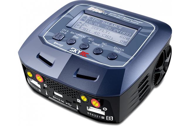 SkyRC D100 V2 Dual Balance Charger/Discharger/Power Supply