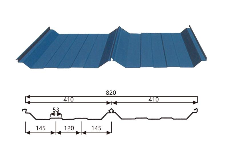 Steel Trapezoid Tiles