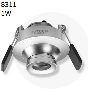 8311 the eye,led focus spotlight,recessed led ceiling light for living room,1W