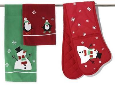 Christmas Oven Glove
