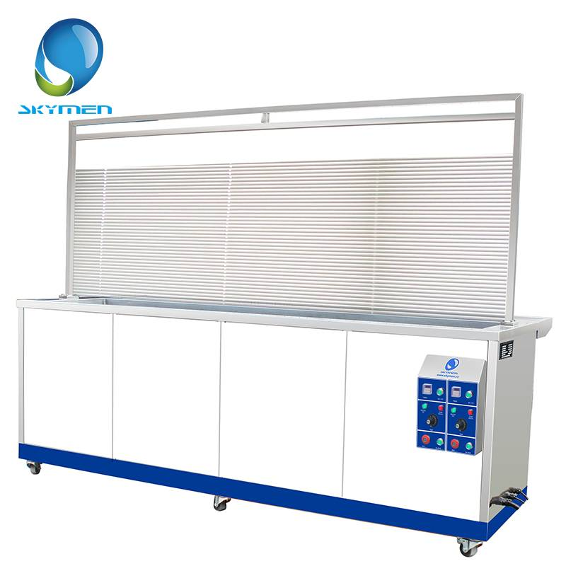 Stainless steel ultrasonic cleaner for Blind cleaning with drying rack