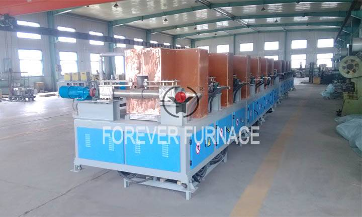steel billet induction heating production line