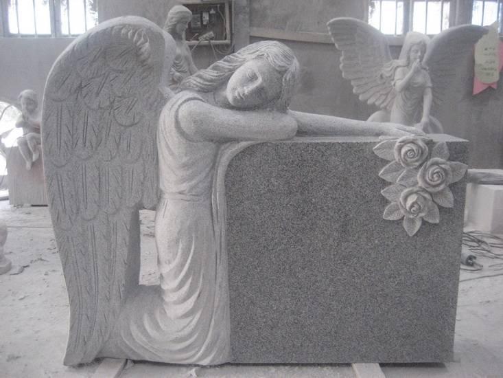 uk angel headstones