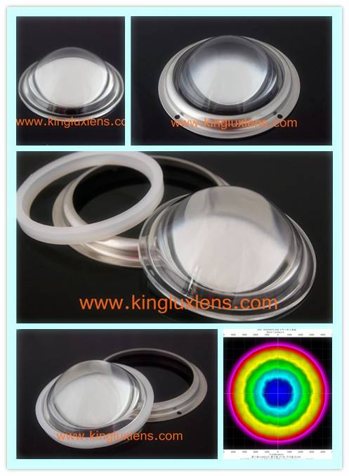 100mm 60 degree led lenses for led spot lights