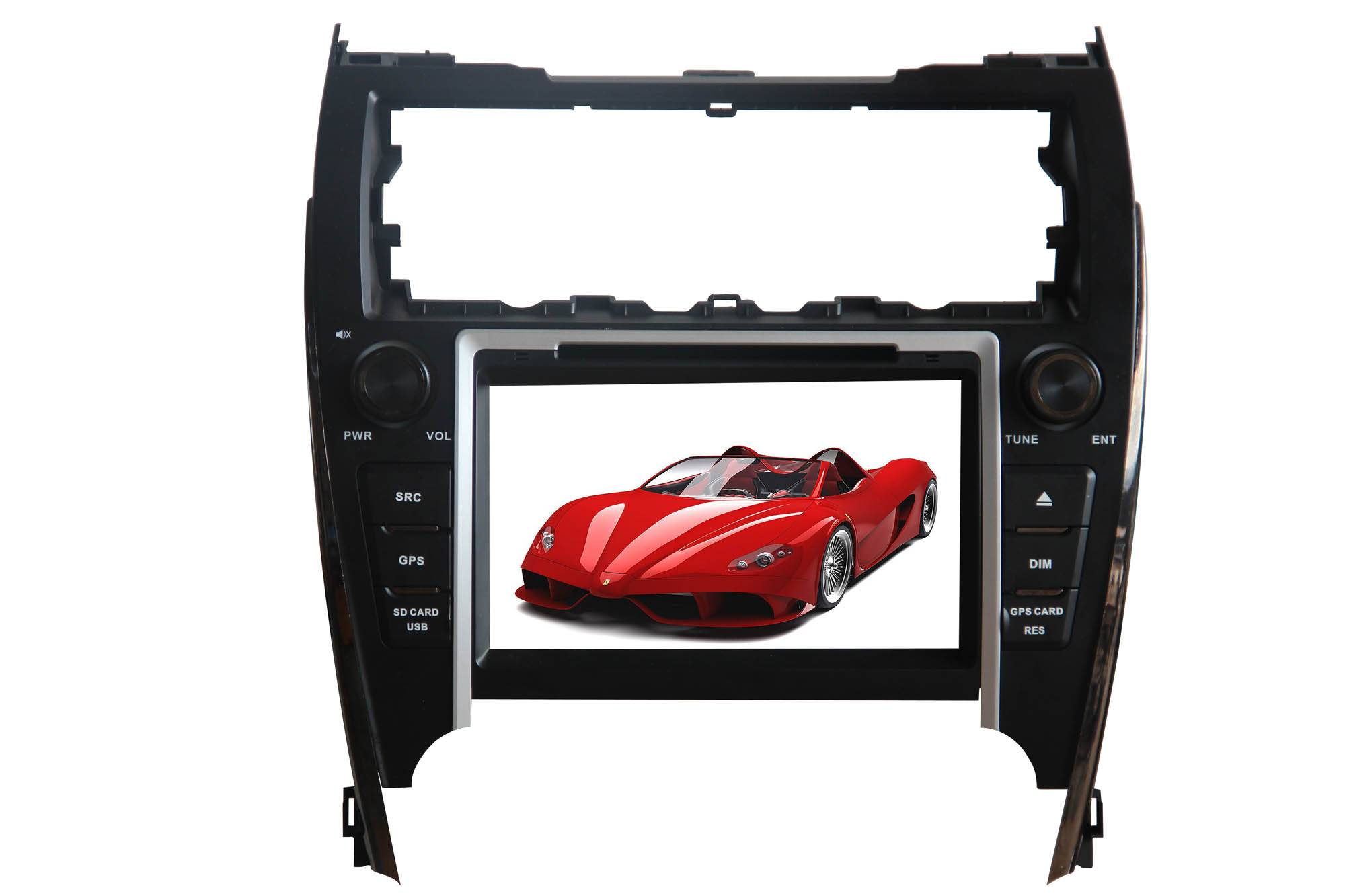 All-in-one 8'' touch screen special DVD player for CAMERY 2012(for USA and Middle east)