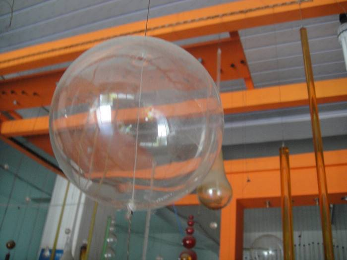 wholesale clear hollow glass sphere