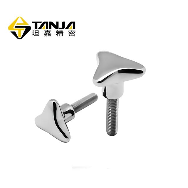 TANJA T53 Hot Sale Stainless Steel precision casting matte finish Screw type locking knob