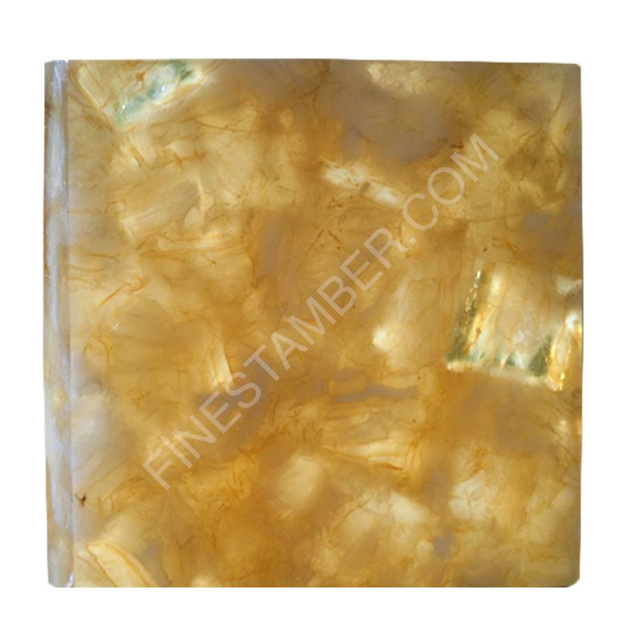 Natural Amber Tiles for Interior Design